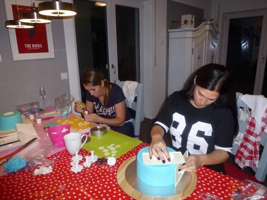 Torten Kurse, Fondant-Torten, Cupcakes
