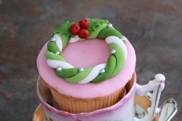 Cupcakes zur Weihnachtszeit